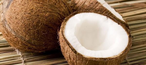 zdrowa żywność z kokosa - cukier i mąka